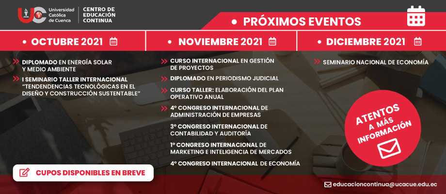 Banner Próximos Eventos 2021
